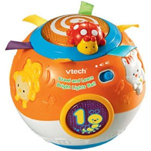 Vtech Crawl and Learn Lights ball toy